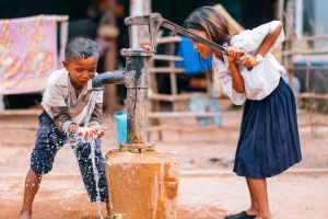 Rock Foundation Cambodia Fresh Water Well Children School