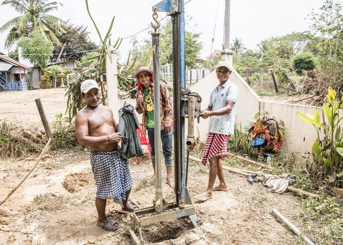 Cambodia-Fresh-Clean-Water-Wells-Drilling-Rock-Foundation